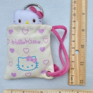 44eeeeecc Hello Kitty Bags - Small Hello Kitty Doll In A Bag Key Ring Holder